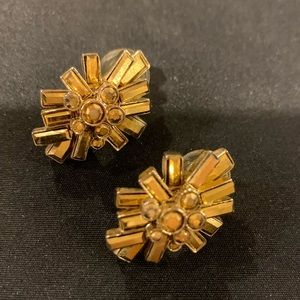 St John Clip on Earrings